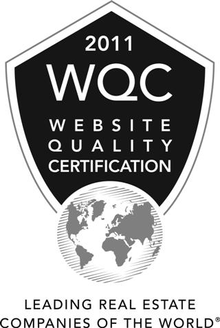 Website Quality Certification 2011 – The Leading Real Estate Companies of the World